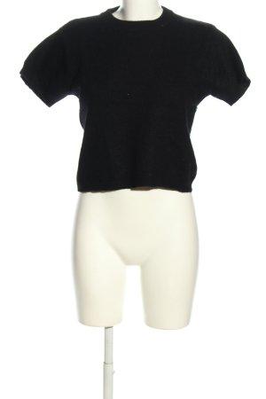 Hennes Kurzarmpullover schwarz Casual-Look