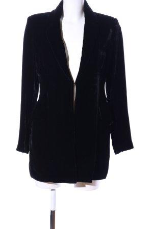 Hennes Long-Blazer schwarz Casual-Look