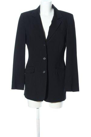 Hennes Long-Blazer schwarz Business-Look