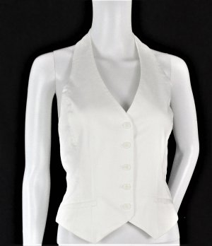 Hennes Collection by H&M Reversible Vest white-natural white cotton