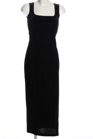 Hennes Maxikleid schwarz Elegant