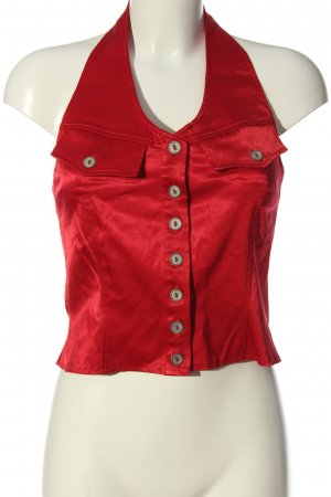 Hennes Rugloze top rood elegant