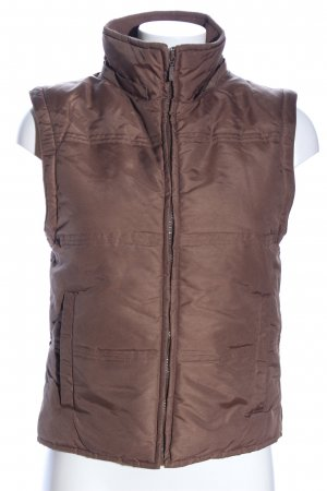 Hennes Quilted Gilet brown casual look