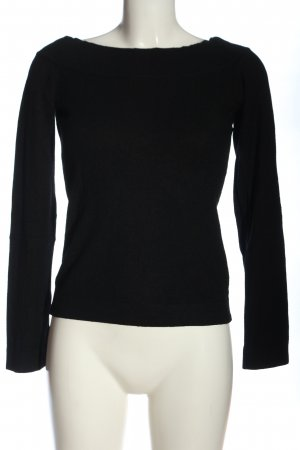 Hennes Strickpullover schwarz Casual-Look
