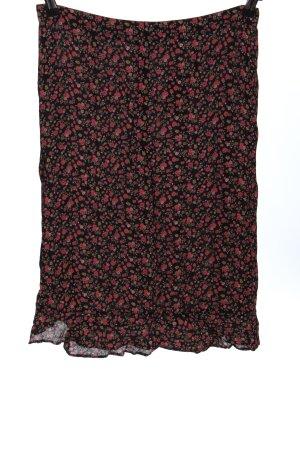 Hennes Spódnica z falbanami Na całej powierzchni W stylu casual