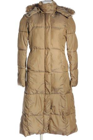 Hennes Winterjacke wollweiß Steppmuster Casual-Look