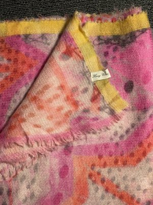 Henry Christ Cashmere Scarf multicolored cashmere