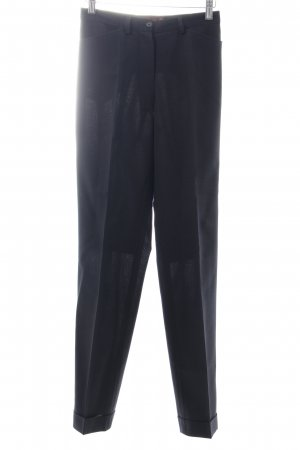 Henry Cotton's Bundfaltenhose dunkelblau Business-Look
