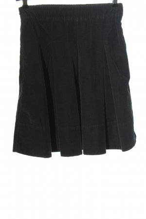Henry Cotton's Flared Skirt black casual look