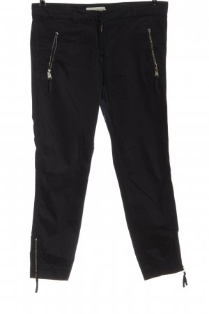 Henry Cotton's Low-Rise Trousers black casual look