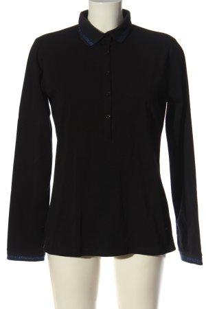 Henry Cotton's Koszulka polo czarny W stylu casual