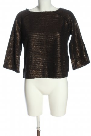 Henry Cotton's Knitted Jumper bronze-colored casual look