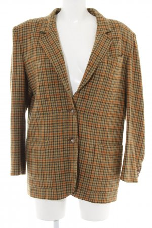 Henry Cotton's Woll-Blazer Karomuster Casual-Look