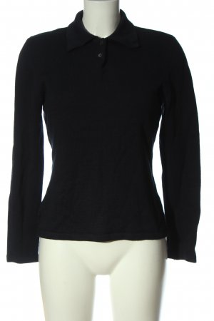 Henry Cotton's Wool Sweater black casual look