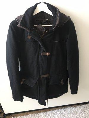 Henry Cotton's Outdoor Jacket black-black brown