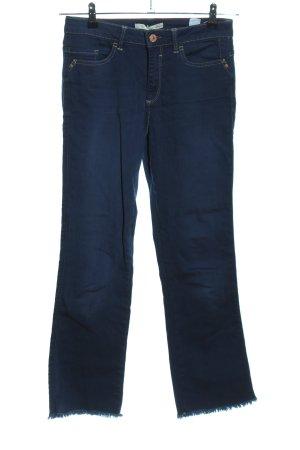 Henry J. Siegel Boot Cut Jeans blau Casual-Look