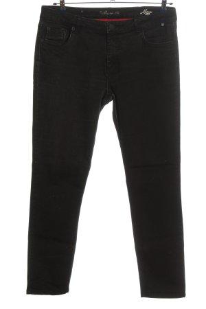 Henry J. Siegel Slim Jeans schwarz Casual-Look