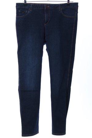 Henry J. Siegel Slim Jeans blau Casual-Look