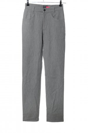 Henry J. Siegel Straight-Leg Jeans hellgrau meliert Casual-Look