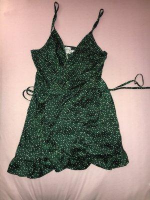 Wraparound dark green-white