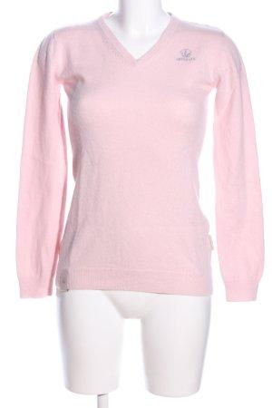 Herbalife Wollpullover pink Casual-Look