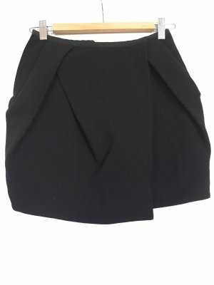 Herbst Business-Look asymmetrie-Rock, Overlap mini skirt, JNBY Minirock