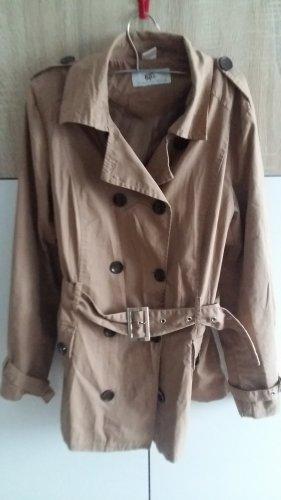 Bonbrix Manteau court gris brun