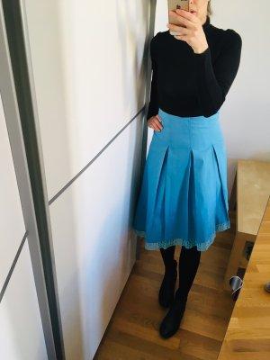 Herbst Midiskirt, Asymmetrisch Rock, Skirt, Vintage