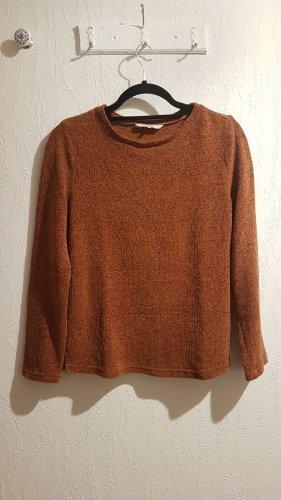 C&A Clockhouse Sweter z dzianiny ciemny pomarańcz-rudy