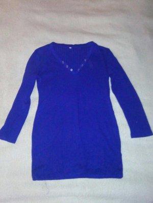19V69 ITALIA Lange jumper blauw