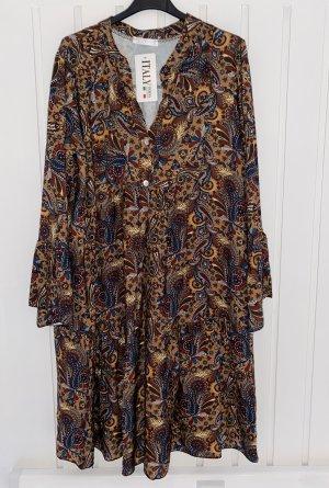 Made in Italy Sukienka tunika Wielokolorowy