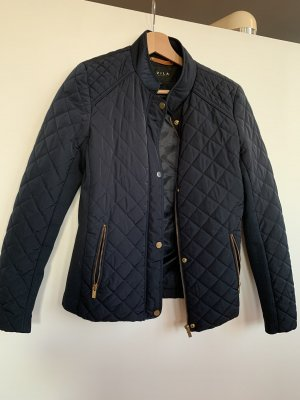 Vila Quilted Jacket gold-colored-dark blue
