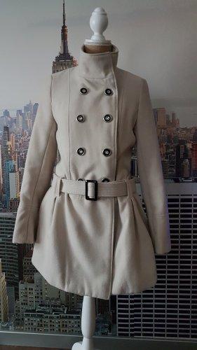 Atmosphere Manteau court blanc cassé-beige clair