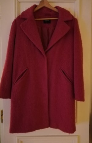 Herbst Winter Mantel Pink