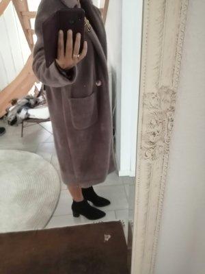 Alessandra Chamonix Oversized jas grijs-bruin