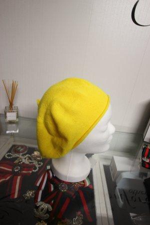 Beanie geel