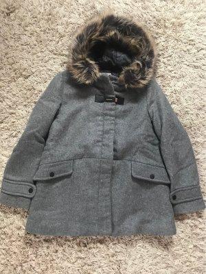 Zara Kids Duffle-coat argenté-gris