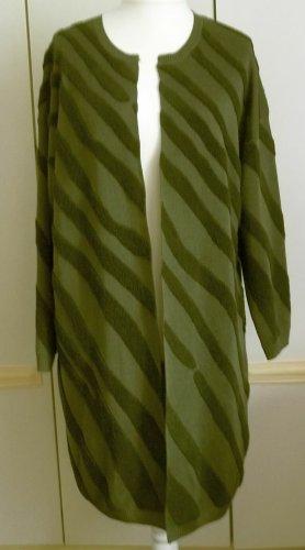 Margit brandt Cappotto a maglia verde scuro-verde oliva Acrilico