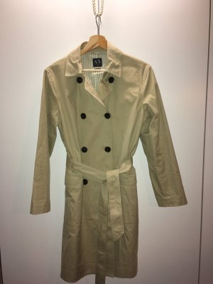 Armani Exchange Trench Coat cream-beige