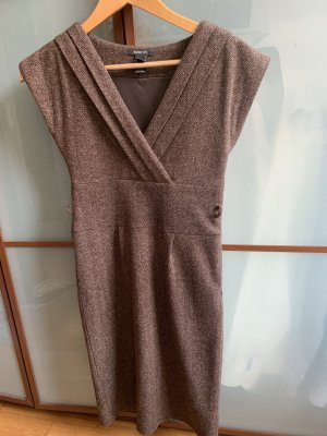 Mango Suit Cargo Dress brown-light brown