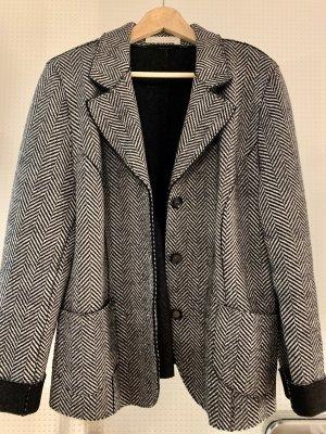 Avantgarde Blazer in lana antracite-nero