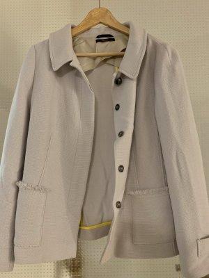 Windsor Blazer in lana grigio chiaro