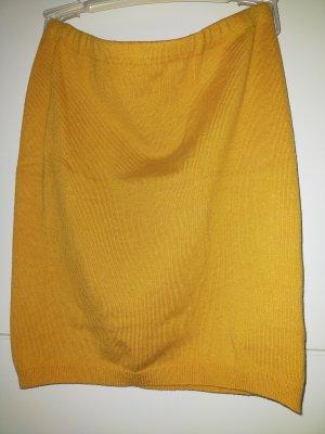 Vero Moda Spódnica ze stretchu żółty