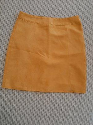 Orsay Falda de cuero de imitación marrón arena