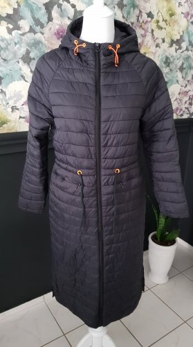 CARRY CASUAL Płaszcz z kapturem czarny