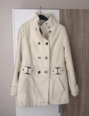 Bodyflirt Płaszcz przejściowy w kolorze białej wełny-kremowy