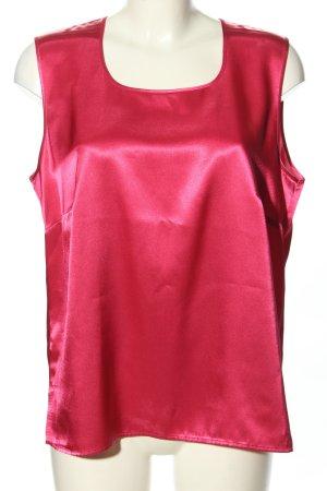 Hermann Lange ärmellose Bluse pink Casual-Look