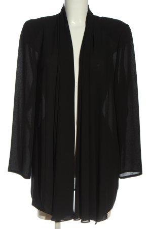 Hermann Lange Chaqueta tipo blusa negro look casual