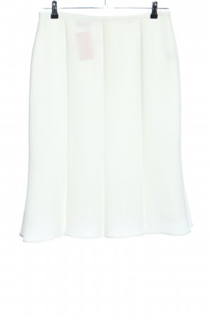 Hermann Lange Godet Skirt white business style