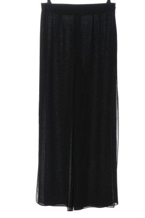 Hermann Lange Falda pantalón negro estilo «business»